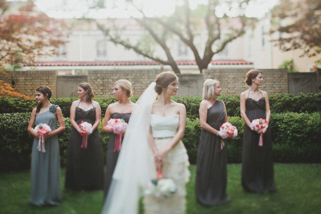 Bridal Party Portrait by Taylor Lord Photography