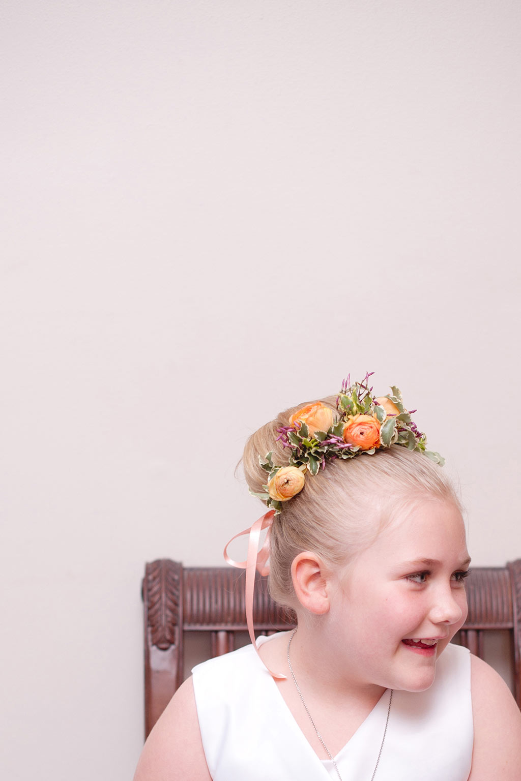 Flower Girl Hair Halo