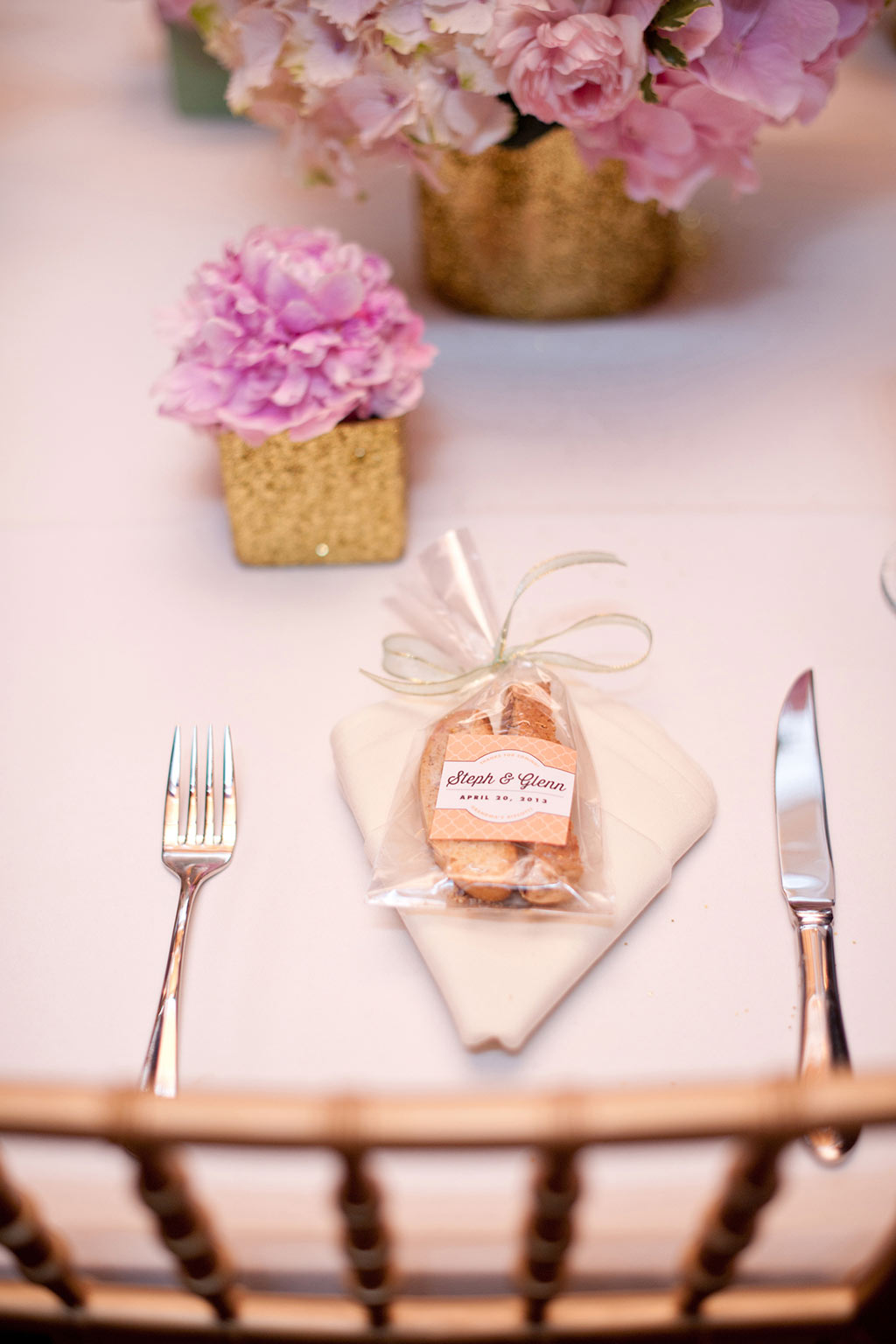 Biscotti Wedding Favor